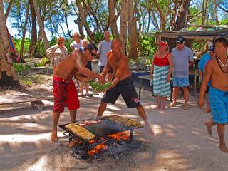 CWC2 blog Rarotonga BarBQ