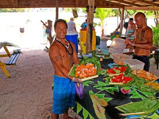 CWC2 Blog Rarotonga Lunch 1