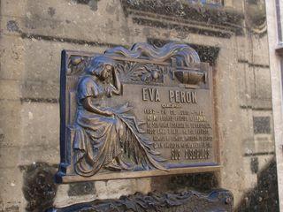 CWC3 Buenos Aires Evita Grave Stone