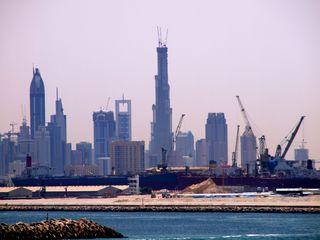 CWC3 Dubai Skyline 2007 2