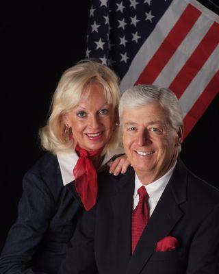 Brian and Judy Robertson Flag 1