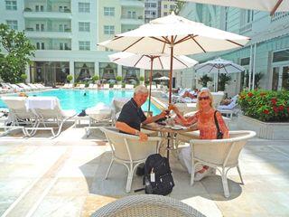 CWC3 B and J at Copacabana Palace