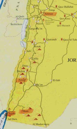 CWC3 Map of Jordan